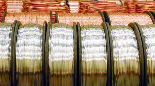 circle copper wire